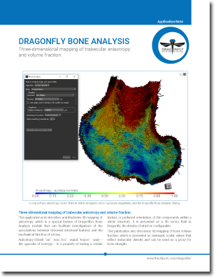 Dragonfly Bone Analysis Technology Note